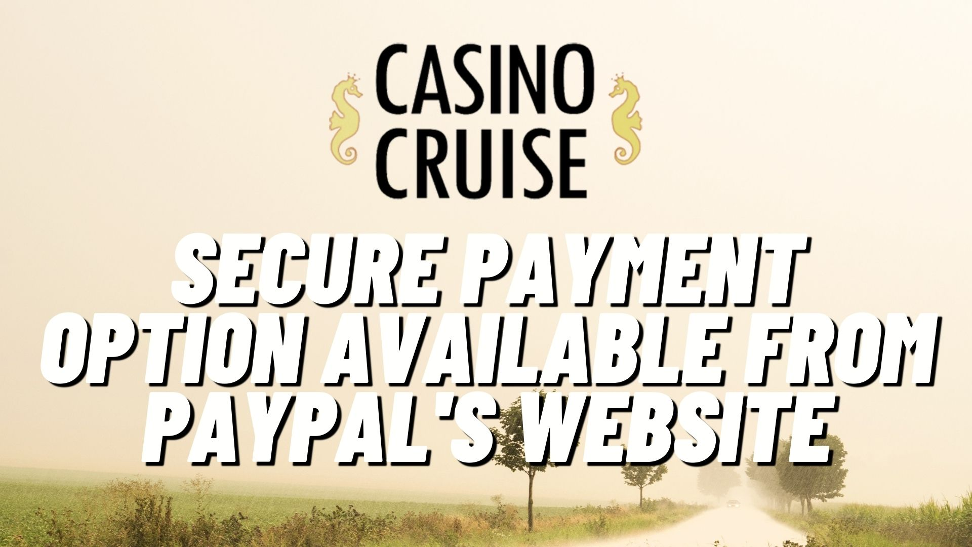 Casino Cruise Payment Options